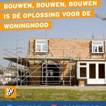 Woningnood Koggenland: bouwen, bouwen, bouwen!