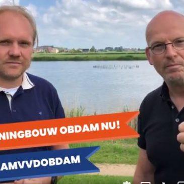 TeamVVDKoggenlandwil geen vertraging in de ontwikkeling van de noodzakelijke woningbouw in ObdamTuindersweijde!